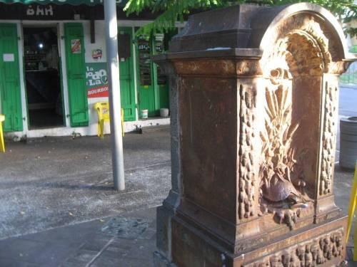 Fontaine Tortue du bas de la Rivière.