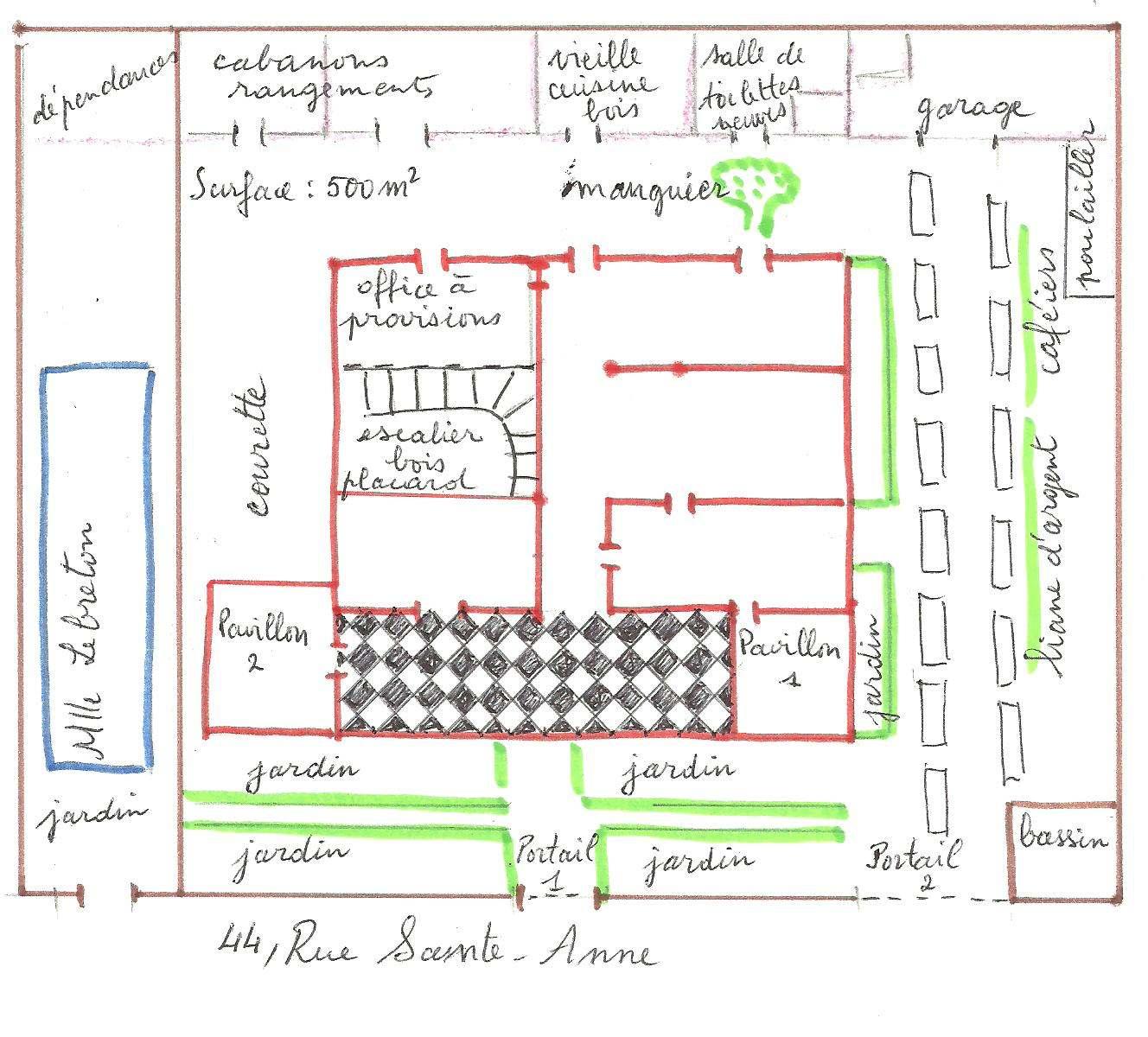 la vie d une famille dans le st denis des annees 1950 defense patrimoine reunion974 39 s blog. Black Bedroom Furniture Sets. Home Design Ideas