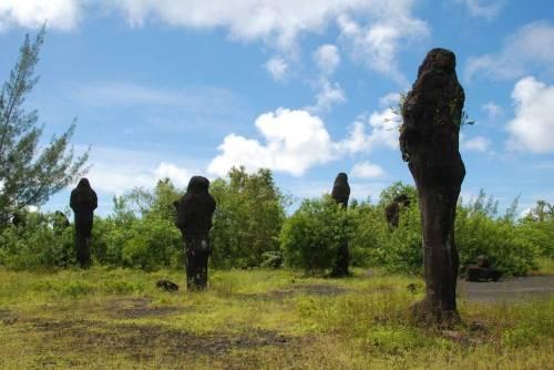 Symbiose pour volcan et oiseaux avant l'éruption (photo François Martel-Asselin)