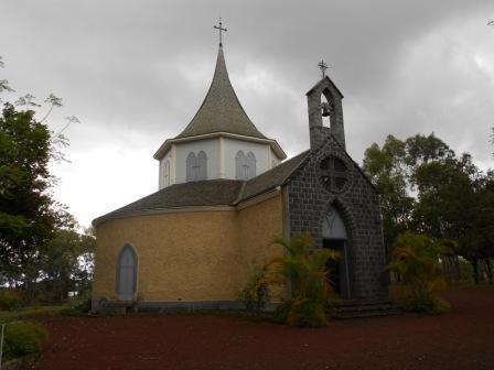 La Chapelle Pointue où les restes mortels de Mme Desbassayns ont été inhumés (1).
