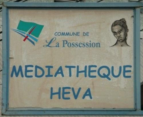 Photo : La médiathèque Heva