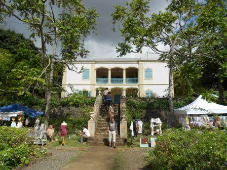L'une des demeures de Mme Desbassayns à Saint-Gilles les Hauts (Coll. Privée)