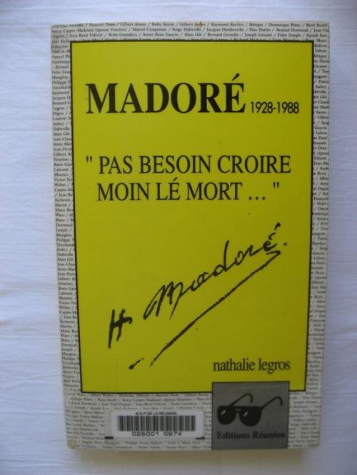 Le livre consacré à Madoré par Nathalie Legros (3).-WEB