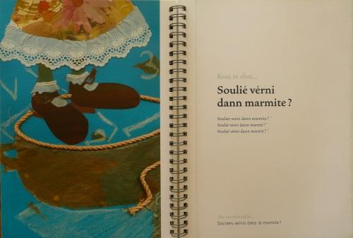 dessin de F. Fe-liks pour Brinzel-kari-aubergine-carry d--
