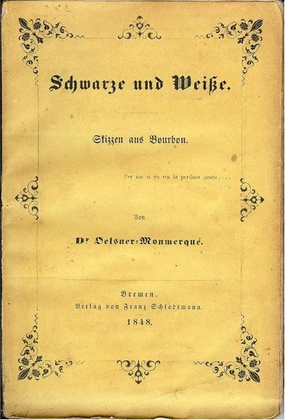 Première de couverture de l'édition de 1848 à Brème.
