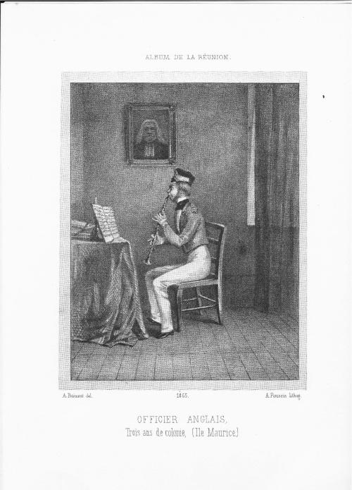 À Maurice comme à Bourbon, la belle vie des officiers anglais.