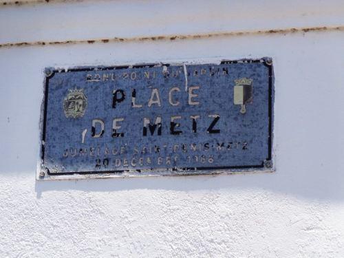 Que reste-t-il de la Place de Metz ?