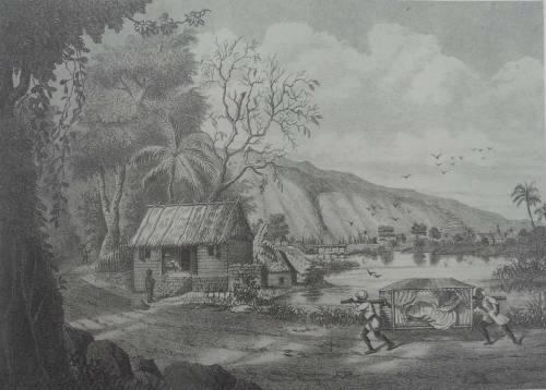Le Manchy, Paysage des environs de Saint-Paul, 1882. A. Roussin (5)