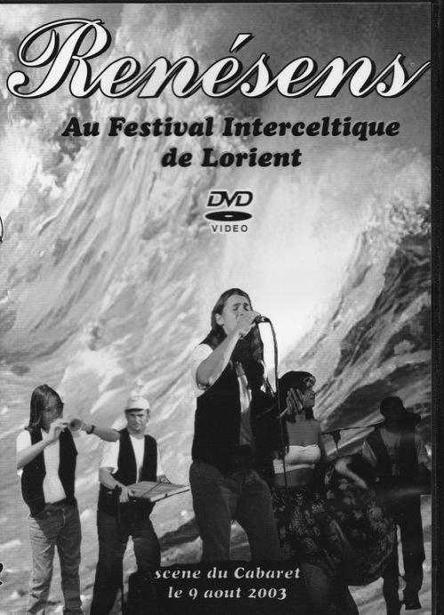 le groupe Renésens au Festival interceltique de Lorient en 2003.