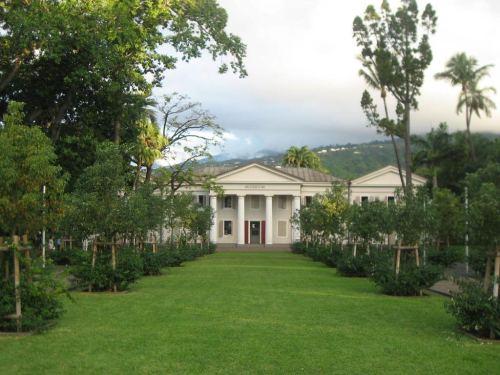 Le Muséum et le jardin du Roy.