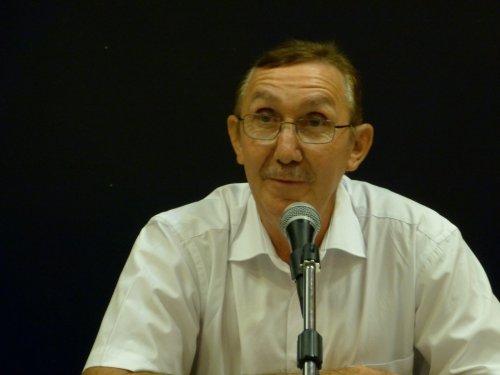 D. Aupiais lors de l'une de ses conférences.