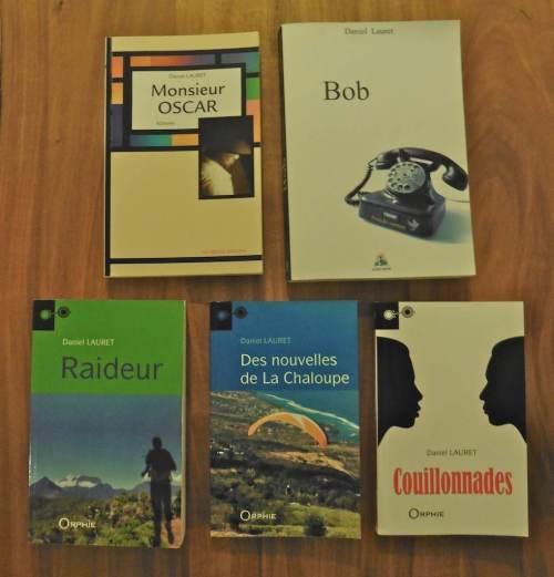 Récits et romans de Daniel Lauret