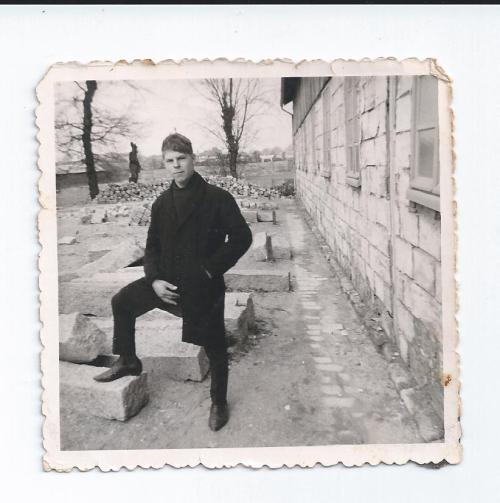 « À nous deux, Bretagne ! »… Philippe au centre F.P.A. de Rennes (1964)
