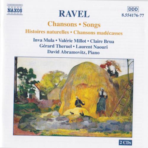 3 chansons madécasses,dont Nahandove, ont été mises en musique par Ravel.