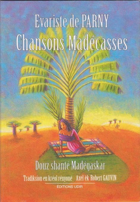 Page de couverture de l'édition français-créole des chansons madécasses (2005)