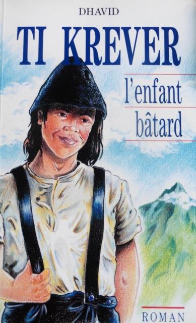 Couverture du livre Ti Kréver, l'enfant bâtard, illustration éd. Graphica