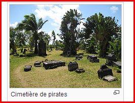 Le cimetière des pirates de l'île Sainte-Marie