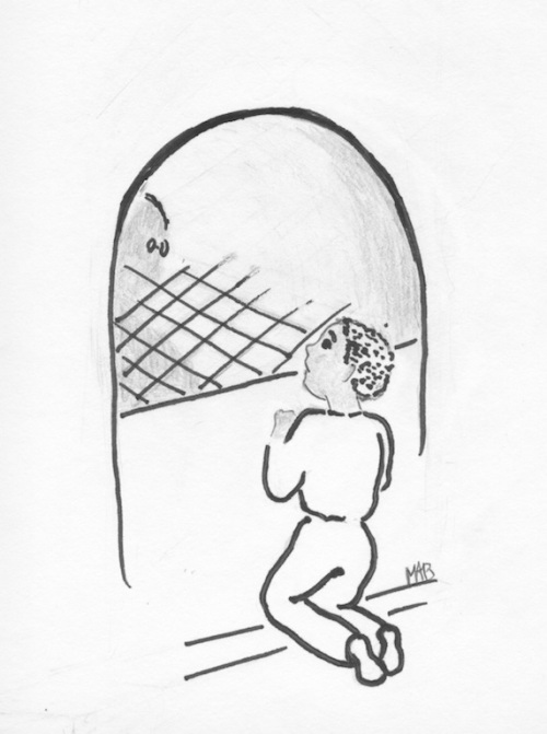 L'entrée du tunnel…(illustration MAB.)